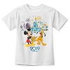 Disney Child Shirt - Mickey Mouse and Friends - 2019 Logo - White