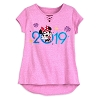 Disney Girl's Shirt - 2019 Minnie Mouse - Pink