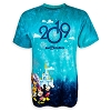 Disney Adult Tie-Dye Tee - Mickey and Friends - 2019 Logo