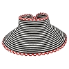Disney World Sun Visor Hat - Roll-Up - Minnie Dot Striped