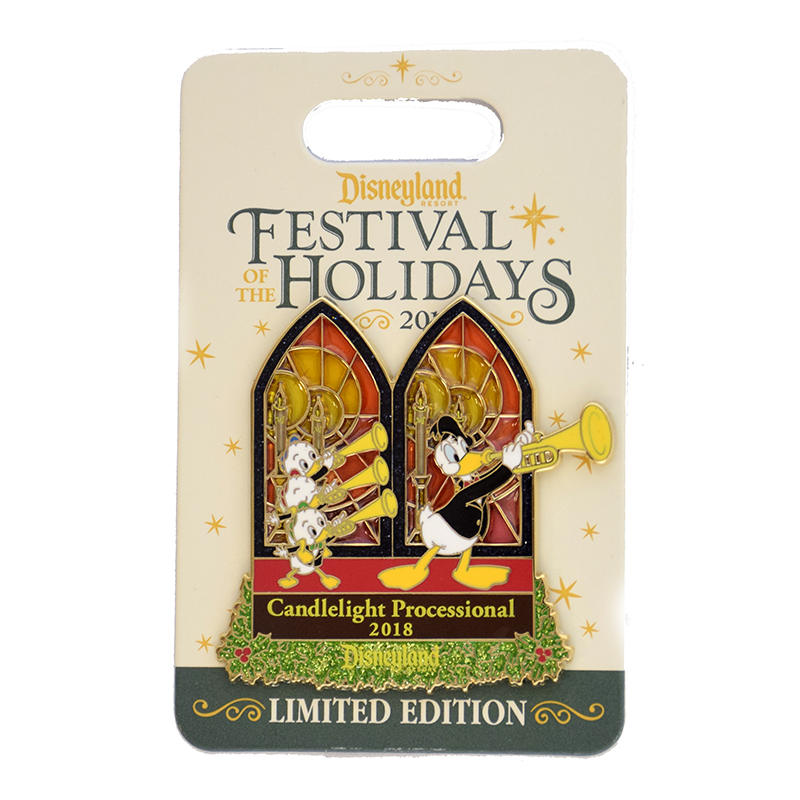 Disney Festival of the Holidays Pin - 2018 Candlelight Processional DISNEYLAND