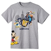 Disney Adult Shirt - 2019 Mickey and Friends - Disney World Grey