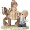 Disney Precious Moments Figurine - Our Love Is True Beauty