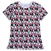 Disney Women's Shirt - Mickey Mouse Club - Allover Print