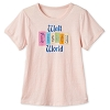 Disney Women's Shirt - Walt Disney World Rhinestone Marquee