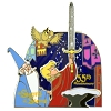 Disney Anniversary Pin - Sword in the Stone 55th Anniversary - Arthur