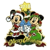 Disney Christmas Pin - Merry Christmas 2018 - Mickey and Minnie