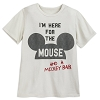 Disney Child Shirt - I'm Here for the Mouse and Snacks