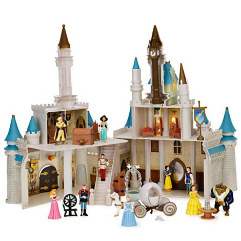 Disney Figurine Set Monorail Cinderella S Castle Play Set