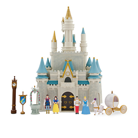 Disney Figurine Set - Monorail - Cinderella's Castle Play set