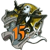 Disney Jack Skellington Pin - 15th Anniversary