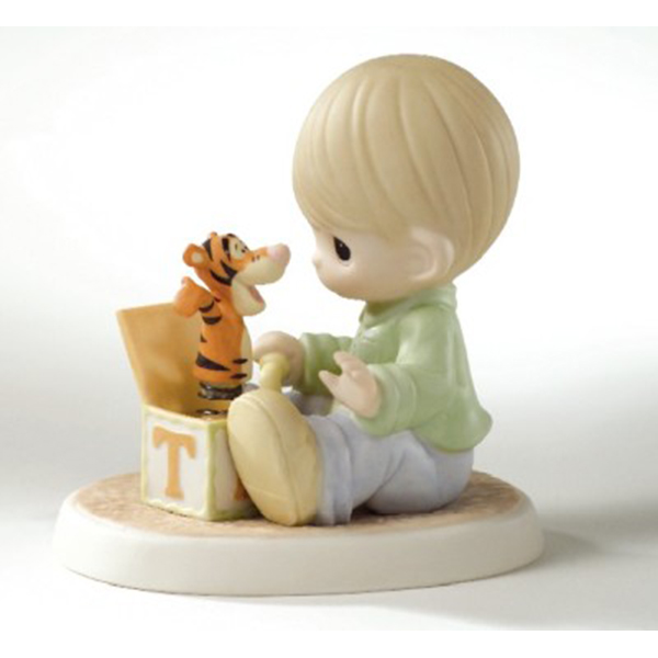 Disney Precious Moments Figurine - The Wonderful Thing 'Bout Tiggers