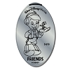 Disney Pressed Quarter - Friends - Pinocchio