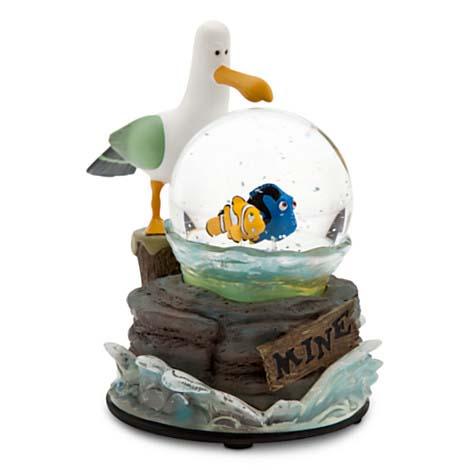 Disney Snow Globe Finding Nemo Mine Mine Mine Snowglobe