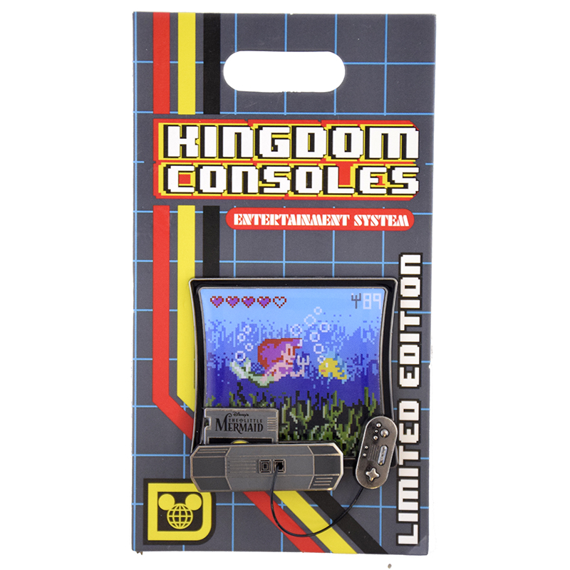Disney Kingdom Consoles Pin - #01 The Little Mermaid