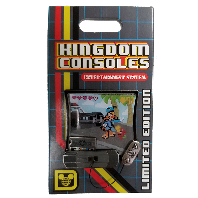 Disney Kingdom Consoles Pin - #06 BONKERS