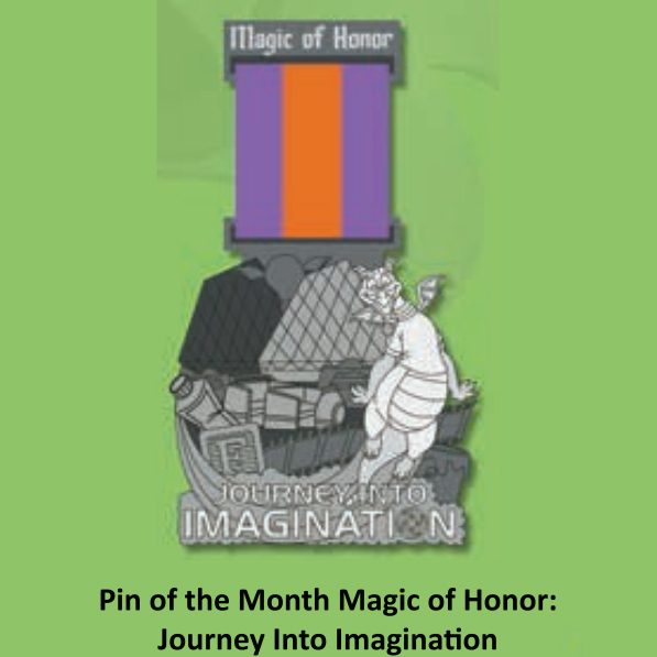 Disney Magic of Honor Pin - #03 Journey Into Imagination