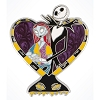 Disney Jack Skellington Pin - JACK & SALLY HEART in Love Pin