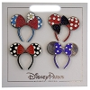 Disney Minnie Mouse Bows 4 Pin Set - Specialty Ears Headbands