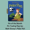 Disney Pin Trading Pop Up Pin - #01 Peter Pan