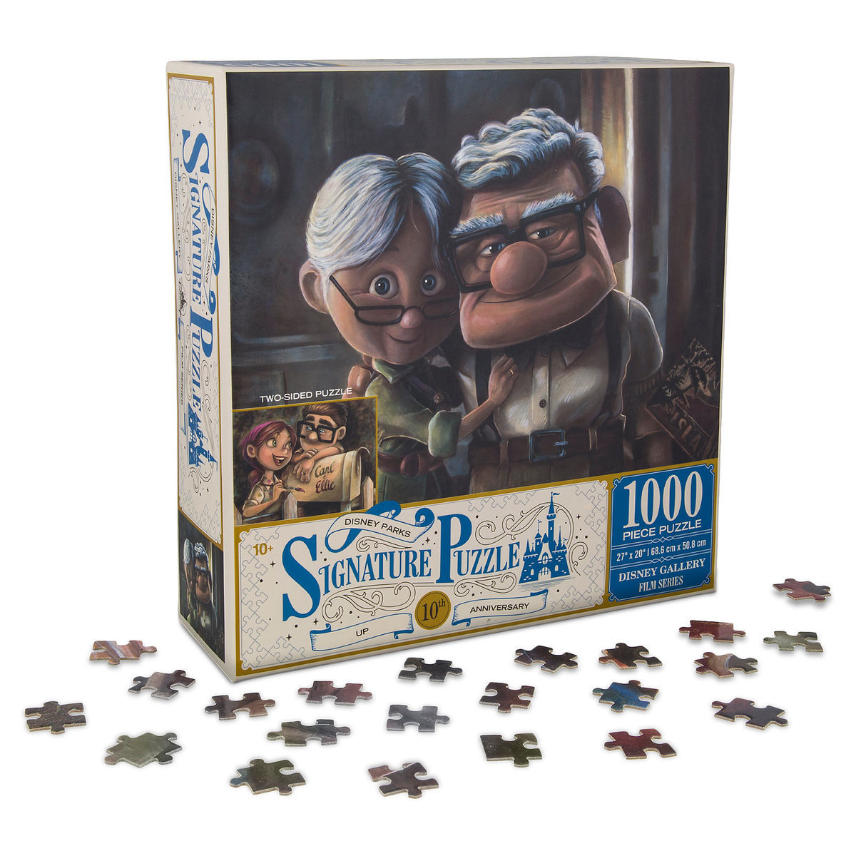 Disney Parks Signature Puzzle - Up - Carl and Ellie 10th Anniversary