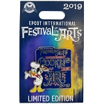 Disney Festival of the Arts Pin - 2019 Donald Cooking is an Art