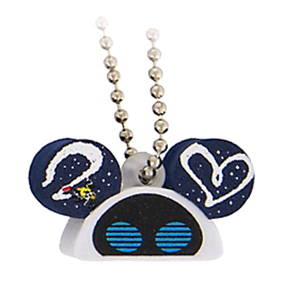 Disney Keychain - Foam Ear Hat Series - Eve Wall-E