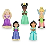 Disney Squeeze Toy Set - Disney Princess and Fairy Set - Purple