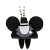 Disney Keychain - Foam Ear Hat Series - Mickey Mouse Groom