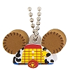 Disney Keychain - Foam Ear Hat Series - Toy Story Woody