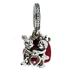 Disney PANDORA Charm - Mickey and Minnie Mouse - Love