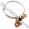 Disney Alex and Ani Bracelet - D-Lish Minnie Donut