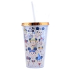 Disney Travel Tumbler with Straw - Jared Maruyama - Mickey Mouse - Big Head