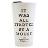 Disney Travel Tumbler - Starbucks - It Was All Started By A Mouse