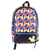 Disney Backpack Bag - Colorful Mickey Mouse Icons