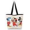 Disney Tote Bag - Mickey Mouse Through the Years Canvas Tote