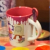 Disney Coffee Cup With Spoon - Festival of the Arts 2019 Figment