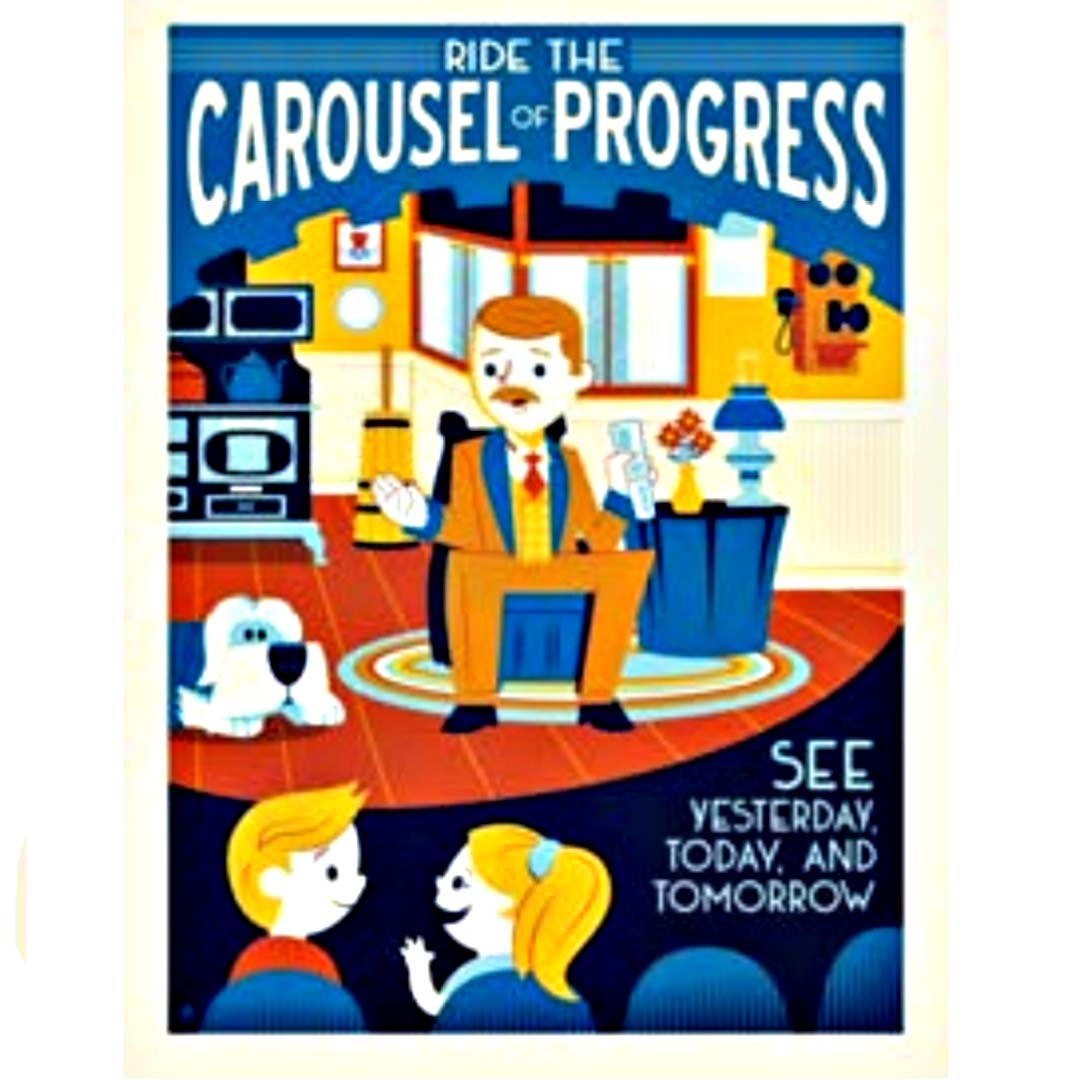 Disney Print - Dave Perillo - Carousel of Progress