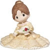 Disney Precious Moments Figurine - Girl As Belle With Chip