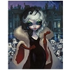 Disney Postcard - Cruella by Jasmine Becket-Griffith