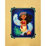 Disney Artist Print - Gabby Zapata - The Ocean and Me