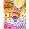 Disney Postcard - Figment of Imagination by Joey Chou