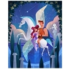 Disney Postcard - Hercules and Meg by Joey Chou