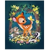 Disney Postcard - Bambi by Joey Chou
