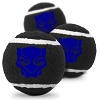 Disney Pet Tennis Ball Toy 3 Pack - Marvel - Black Panther Icon
