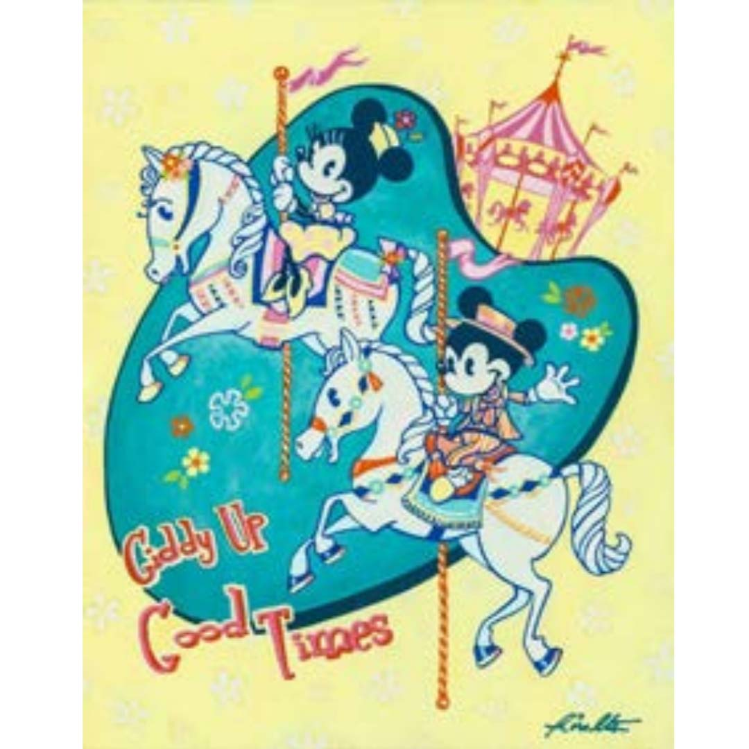Disney Print - Giddy Up Good Times - John Coulter