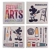 Disney Coaster Set - 2019 Epcot Festival of the Arts - Passholder