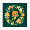 Disney Print - Sweet Lil Orange Bird by Caley Hicks