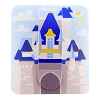 Disney Phone Accessory - Phone Flipper - Cinderella Castle
