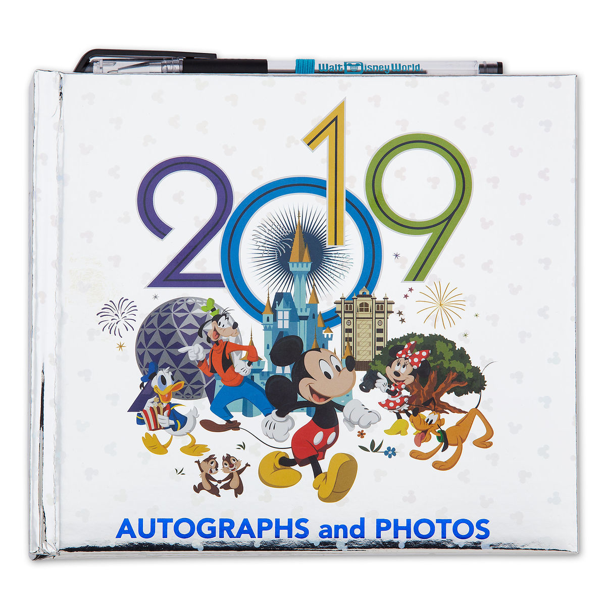 Disney Autograph and Photo Book - 2019 Walt Disney World Logo
